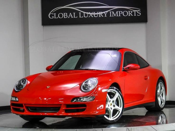 2007 Porsche 911 Targa 4 Manual