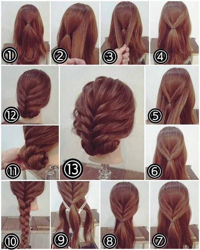Easy Upstyles For Long Hair Simple Up Hairstyles For Medium Hair Current Updos 20190315 Party Hairstyles For Long Hair Long Hair Styles Long Hair Tutorial