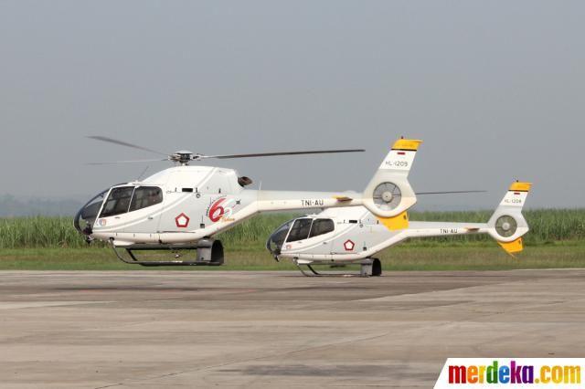 Dua buah pesawat Helikopter EC 120 Colibri dari Skadron Udara 7 Lanud Suryadarma diberangkatkan menuju Pangkalan Udara Halim Perdanakusuma Jakarta untuk mendukung kegiatan SAR Pesawat Sukhoi Superjet 100 yang jatuh di Gunung Salak, Bogor.
