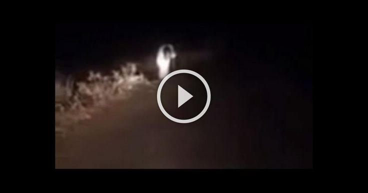 On A Dark, Desolate Road, A Real Witch Scares The Crap Out Of These Motorists
