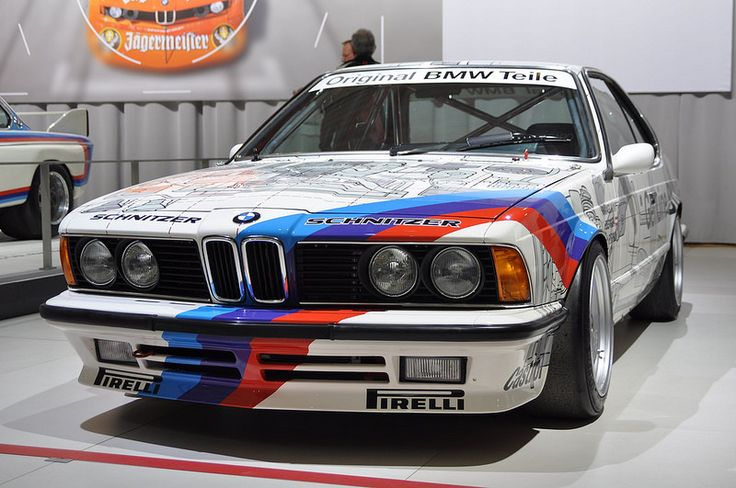 BMW M 635 CSi European Touring Car Championship (1986)