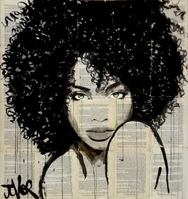 "Saatchi Art Artist LOUI JOVER; Drawing, ""angel"" #art"