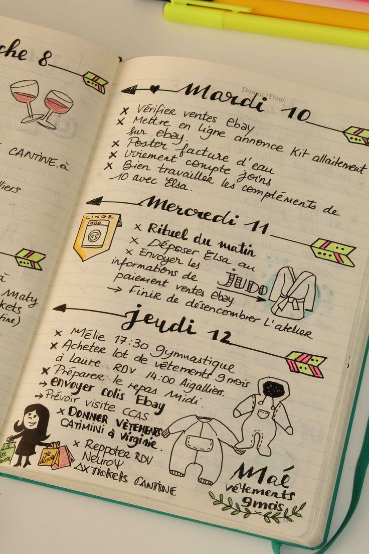 Bevorzugt Plus de 25 idées uniques dans la catégorie Agenda sur Pinterest  UJ41