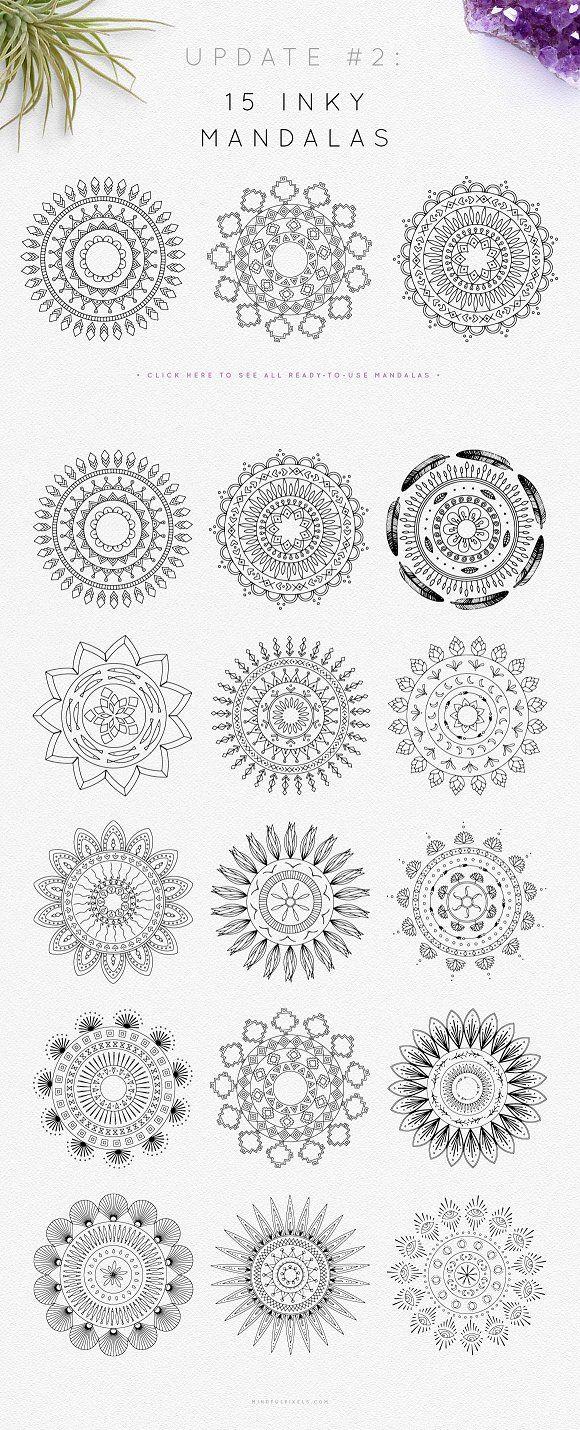 Mandala Logo Creator Logos Τατουάζ mandala, Μοτίβα, Σχέδιο