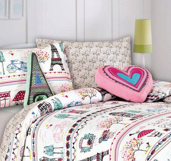 Kooky Paris and Heart Shaped Cushions