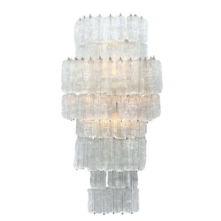 Extraordinary Sconce by Toni Zuccheri for Venini | From a unique collection of antique and modern wall lights and sconces at http://www.1stdibs.com/furniture/lighting/sconces-wall-lights/