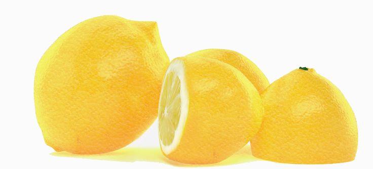 Lemon  3dmax 2013 vray Photoshop