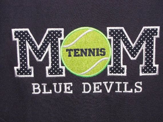 VIDOR PIRATE OF COURSE! Tennis Mom Shirt by sewcutesy on Etsy, $25.00