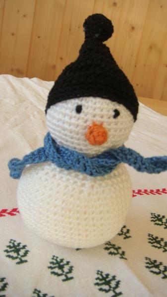 Les explications en VO sont là : clic Celles en français sont là : clic 1 , clic2, clic3. Et parce que des bonhommes de neige avec des chapeaux, vous en avez vu beaucoup, vous dernièrement ? Alors qu'un petit bonnet, ça donne un petit coté skieur en plus...