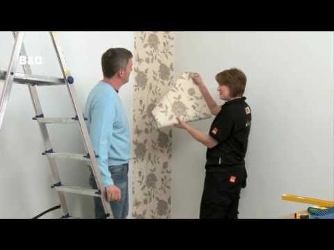 How to Hang Wallpaper: Paste the Wall - YouTube