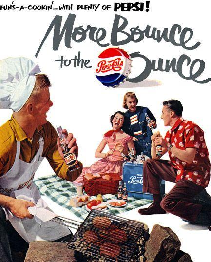 Plan59 :: 1950s Patio Culture :: Pepsi, 1951