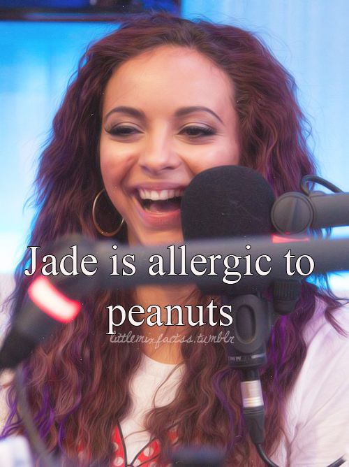 This sounds so weird 4 me cuz my names jade and my bros allergic 2 peanuts