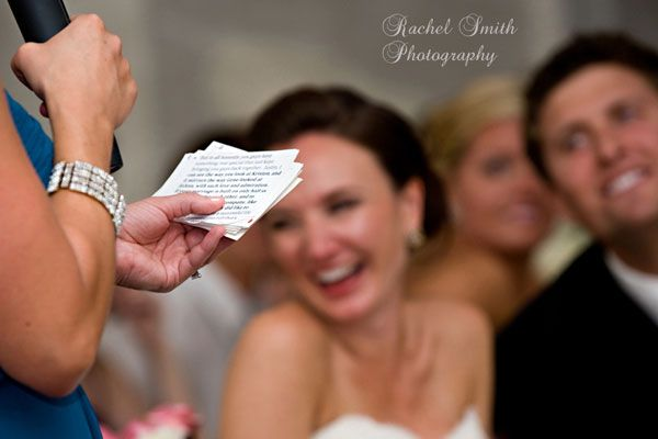 How to give an amazing wedding speech- this actually had some really great points