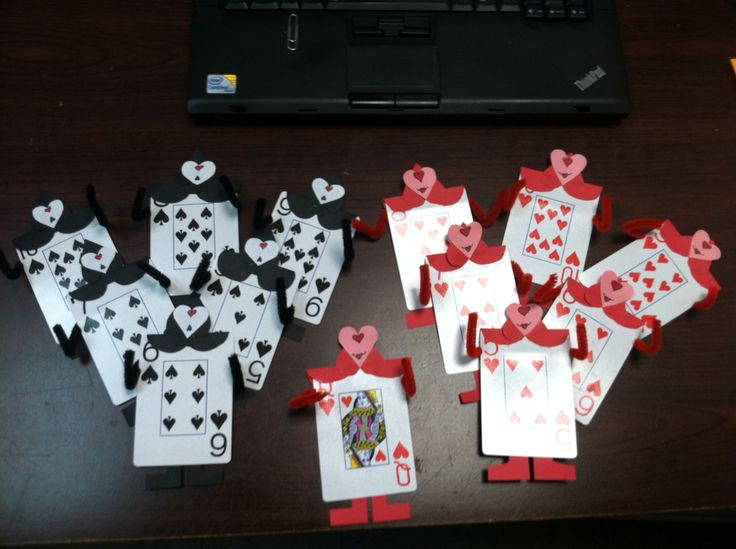 Alice in Wonderland theme - These are the actual door decs that I made for my staff and posted this pic to tumblr.  -HTC