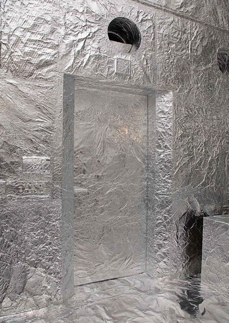 TECHTILE #3: NOSIGNER: Wrap a Gallery Interior in Aluminium Foil | Yellowtrace