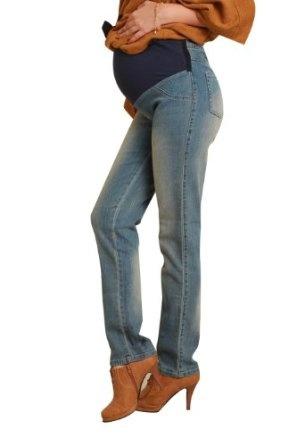 USED Maternity Straight Denim Pants