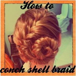"""Instructions for """"The conch shell braid"""".... in all reality, is a spiraled french fishtail braid. The braid has a unique exotic look that is easier to make than it..."""