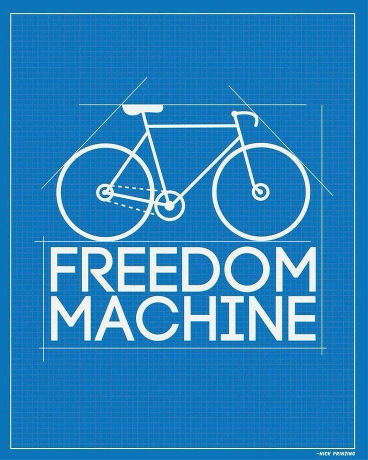 Bu makine özgür bir makinedir. Bisiklet bambaşka bir dünya deneyimini bizlere sunar.