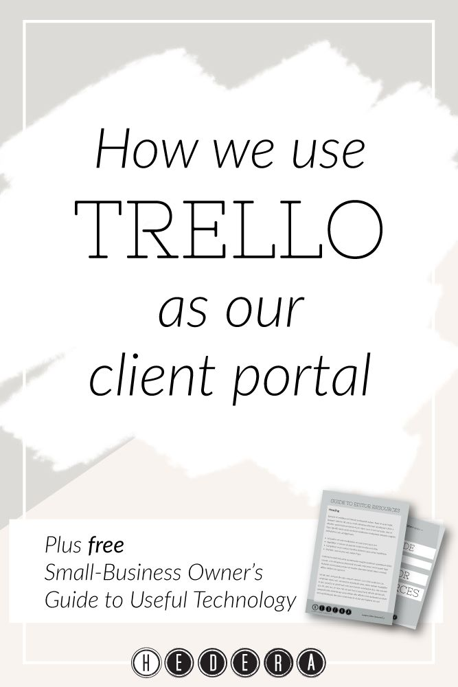 How we use Trello as our client portal — Hedera House