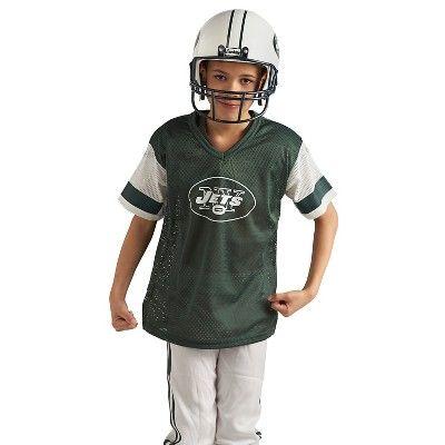 Franklin Sports NFL New York Jets Deluxe Uniform Set, Kids Unisex, Size: Small