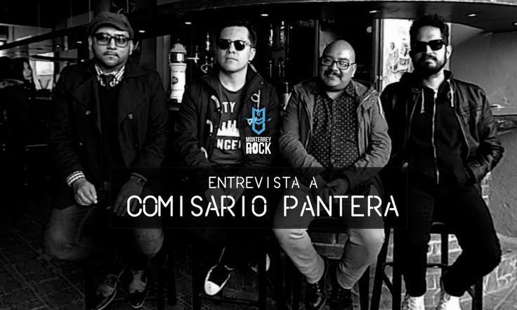 Comisario Pantera entrevista en Salón Morelos