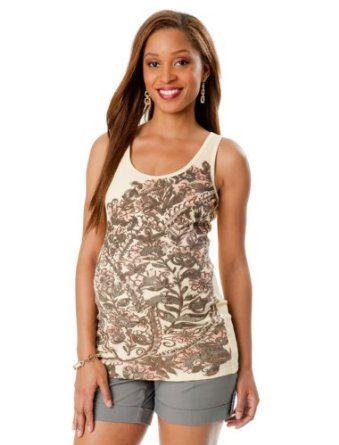 Motherhood Maternity: Sleeveless Scoop Neck Maternity Tank Top Motherhood Maternity. $14.98