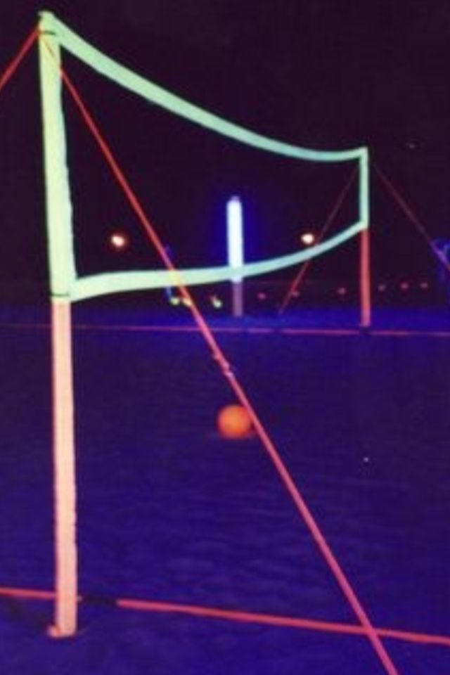 how to make a glow in the dark volleyball