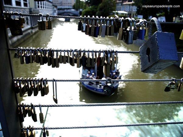 Puente para enamorados en #Liubliana, #Eslovenia