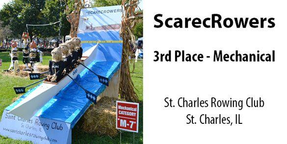 2013 Scarecrow Fest Winner: 3rd Place - Mechanical