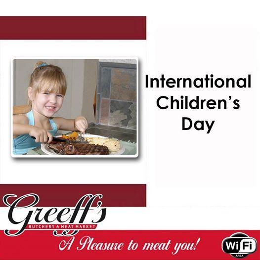 Today we celebrate International Children's Day. We hope you enjoyed your #Sunday #InternationalChildrensDay