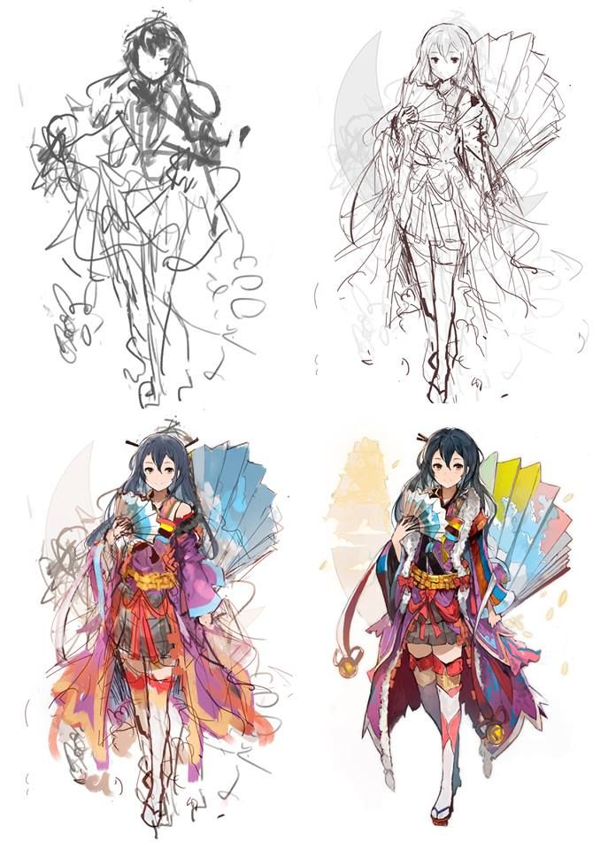 Concept Character Design Tutorials : Best digital concept art inspirations images on