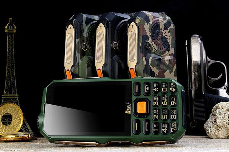 DBEIF D2017 9800mAh Antenna Analog TV 3.5 Inch Handwriting Touch Screen Dual Sim Outdoors Phone