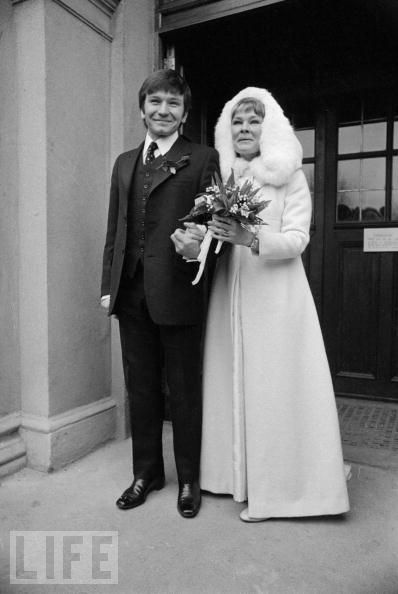 February 5, 1971: English film, stage, and television actress Judi Dench married British actor Michael Williams at St Mary's Catholic Church in Hampstead, London.  They were married until his death from lung cancer in 2001.  They have one child.