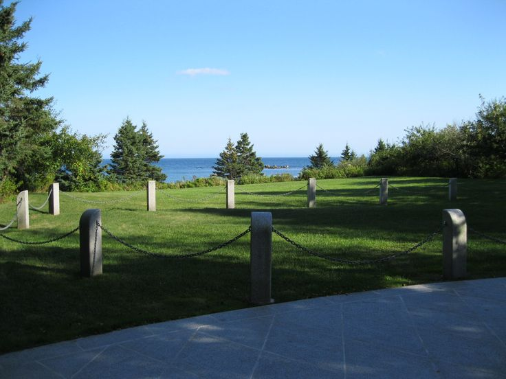 Photo: Swissair Flight 111 Grave Site photo by David Graff.  Rest in peace to all who lost their lives on that day