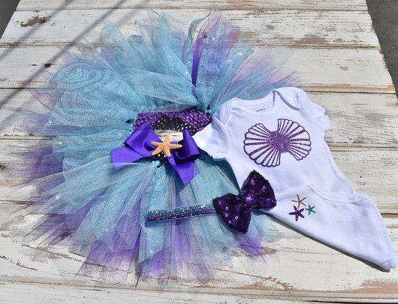 Petite sirène Costume dHalloween complet set par Tutukrazytutus