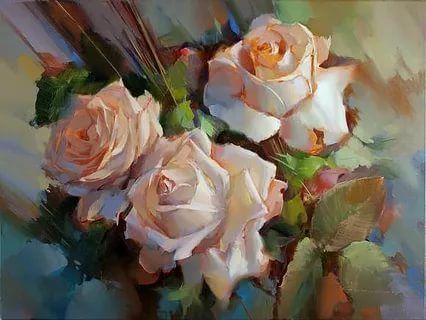 живопись розы: 21 тыс изображений найдено в Яндекс.Картинках