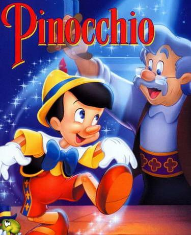 Pinochio...My favorite! I watched that tape until it stopped playing...