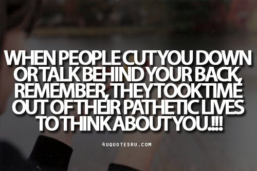 talking about people behind their back quotes - Google Search