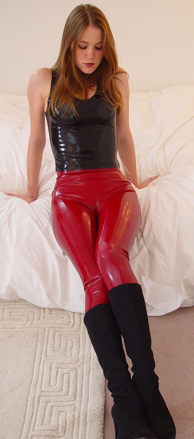 Hot Latex Pants 86