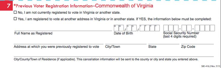 Die besten 25+ Virginia voter registration Ideen auf Pinterest ...