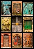I have always been drawn to doors. They are a portal that invites you into someone else's life. They are an opening into another heart or a step back into a forgotten past. Door's make me wish I were a photographer so I could collect them and bring them all home.