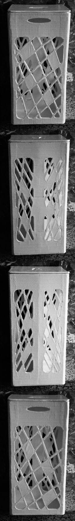 Cesto de la Ropa Sucia.- #Arquitecto #Disenador #Artesano #CosasBellas #BienHechas #Vivir #Carton #Cola #Muebles #Mueble #Ecologicos #Ecologia #Diseno #Reciclable #Cartonista #Ecologista #Creamos #Madrid #Espana