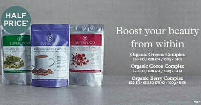 Half price #Vitality & #Beauty boosters from within to help you look and feel your best! https://uk.nyrorganic.com/shop/yavaglobal/area/shop-online/category/half-price-complex/  #Organic #cocoa #Berry #greens #Sale #50%off #Luxury #Brand #BlackHighStreet #BlackBusiness #Blogger  #Winter #Health #Skincare #BeautifulYou #Nutrition #NYROYAVAGlobal #OrganicLife #Antioxidants  #Detox #Sale #Discount #HalfPrice