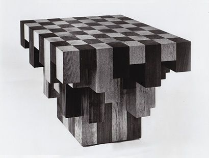 Best 25 c table ideas on pinterest used coffee tables industrial side table and industrial - Karim rashid chess set ...
