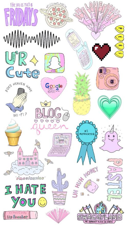 Http Weheartit Com Entry 141615495 Tumblr Stickers