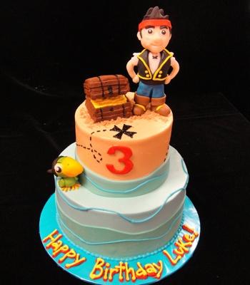 Jake and the Neverland Pirates Birthday cake :)