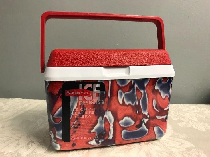 Vintage RUBBERMAID LUNCH TOTE Cooler Ice Designs Lunch Box Ice Chest Red Prop & Pinterestu0027te 25u0027ten fazla benzersiz Lunch tote fikri | Çanta diki? ... Aboutintivar.Com