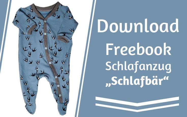"""Freebook Schlafanzug """"Schlafbär"""""""