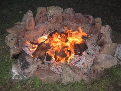 How to Build a Fake Camp Fire