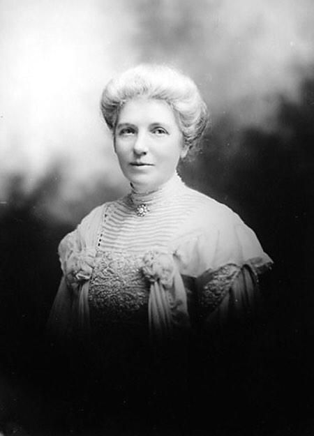 Kate Sheppard, leading suffragette in NZ history (1 of the 1st countries to give women the vote) #FilmHerStory